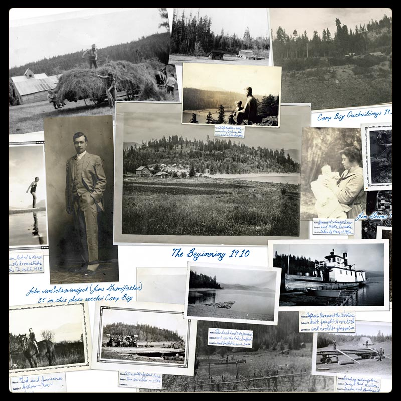 The History of Camp Bay on Lake Pend Oreille